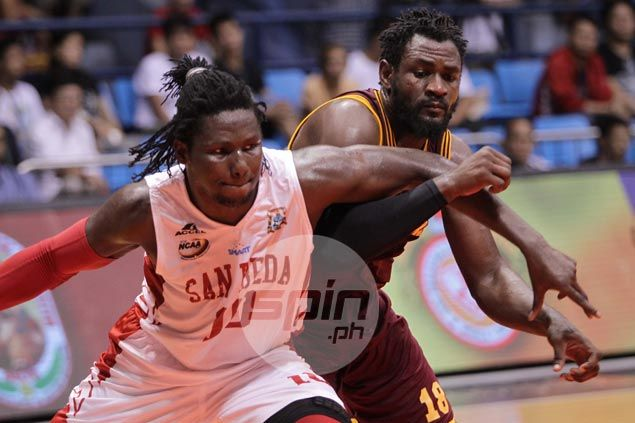 Ola Adeogun making conscious effort to defer to San Beda teammates. Find out why