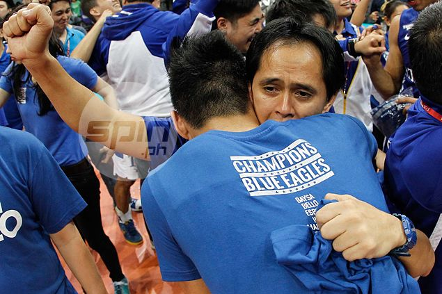 Blue Eagles play down 'favorite' tag in Spikers' Turf Collegiate Conference