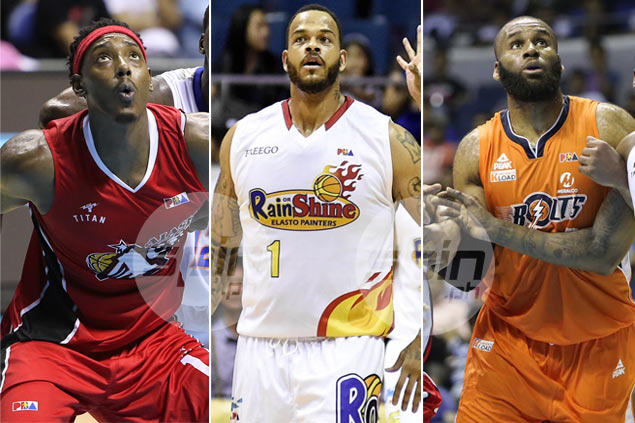 Three-way battle shapes up for PBA Best Import award, but race is hard to call