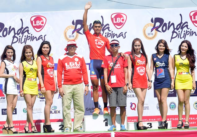 Stage One of Ronda Pilipinas 2016 turns into show of force for Navy-Standard Insurance