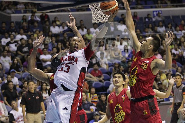 Backed against wall, Ginebra responds with emphatic win over Barako Bull