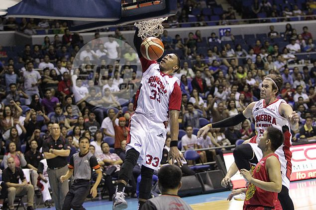 Former Ginebra import Orlando Johnson makes US highlights with mean dunk in NBA D-League