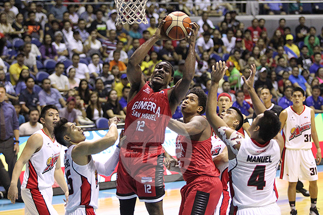 Misfiring Othyus Jeffers blames no one but himself after Ginebra loss to Alaska