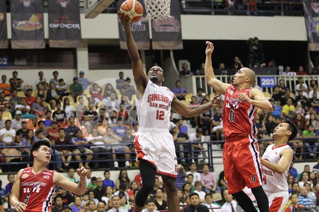 Ginebra repels Blackwater behind Othyus Jeffers, LA Tenorio clutch plays
