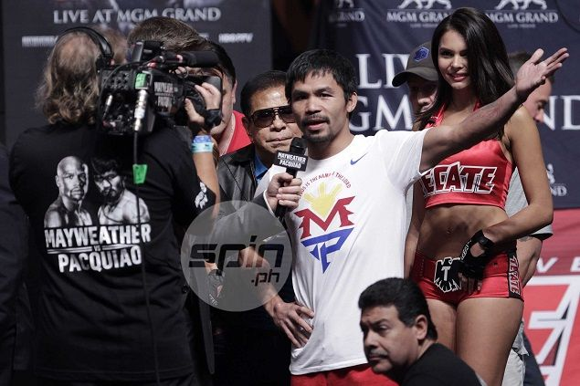 World boxing chief hoping Pacquiao would inspire more as he battles Mayweather