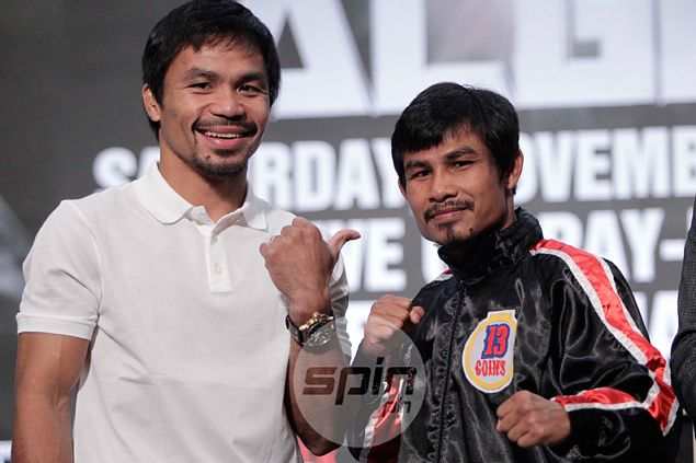 Pacquiao 'mini me' Kwanpichit wants to be like Manny