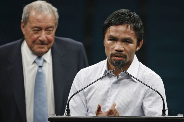 Possible Pacquiao fight in Dubai next year thrills Bob Arum. Find out who's the likely opponent