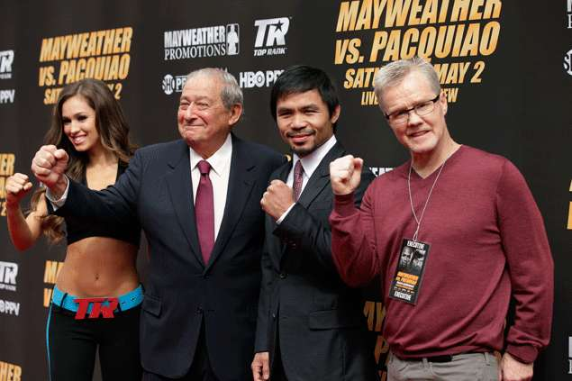 Arum: Pacquiao to run for president in the near future