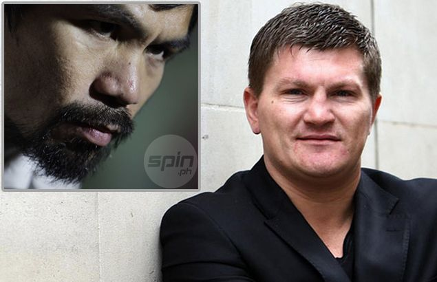 Ricky Hatton tells BBC he's rooting for Pacquiao, but expects Mayweather to win 'by a nose'