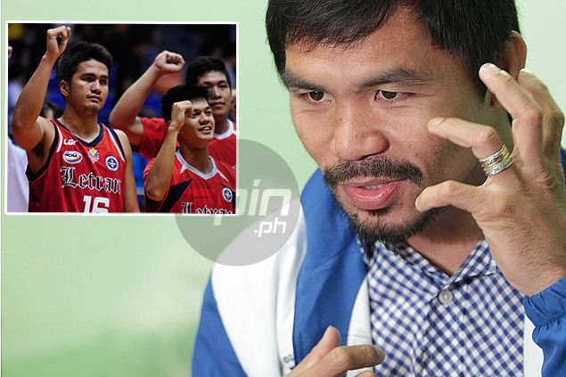 Knights get full support from team manager Pacquiao, invitation to Forbes mansion