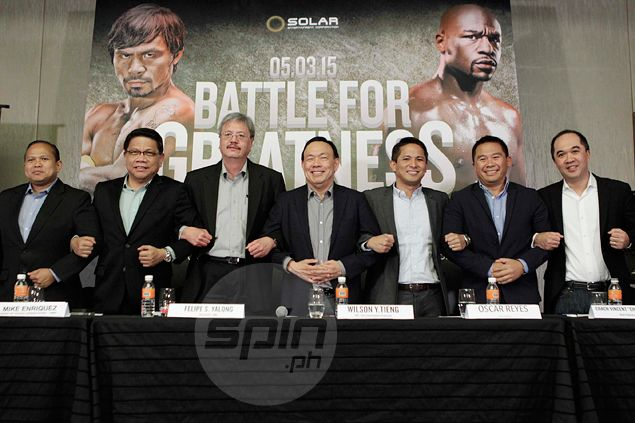 'Network war' set aside as country's top three stations air Pacquiao-Mayweather fight