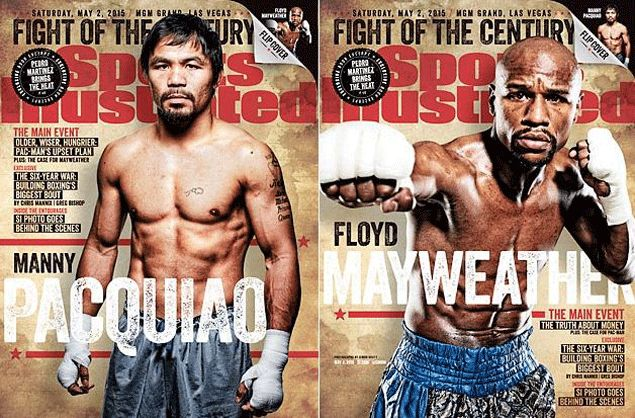 Pacquiao, Mayweather grace special double cover issue of Sports Illustrated magazine