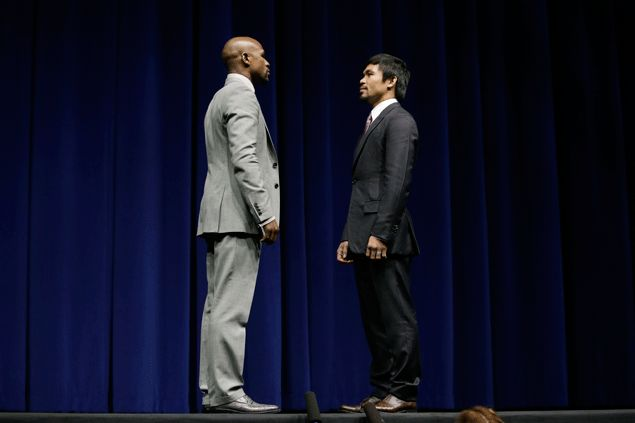 Mayweather wants to have dinner, play basketball with Pacquiao if time permits