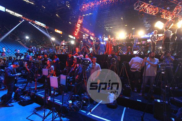 Mediamen from at least 30 countries at hand to cover Pacquiao-Mayweather fight