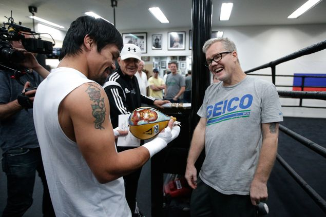 Freddie Roach doesn't see coming elections, other issues a distraction in Manny Pacquiao training