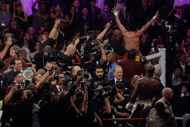 Freddie Roach dying for a rematch for Pacquiao, but Mayweather non-committal