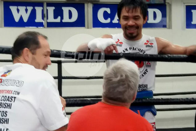 Gerry Penalosa left impressed as Pacquiao nearly knocks out sparring partner