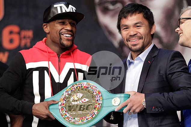 Pacquiao buys 900 tickets, a title belt worth US$1M, and other excesses in megafight