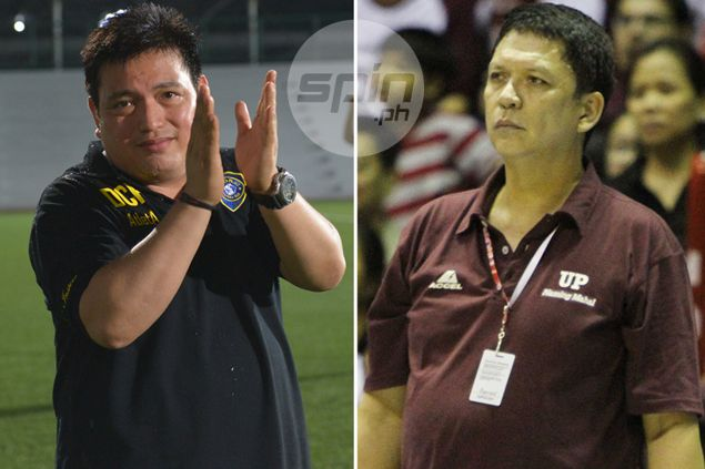 As he tries to put out the fire in Azkals camp, Dan Palami tries to fire up lowly UP Maroons