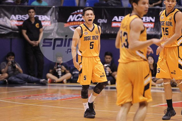Paolo Pontejos sparks late Jose Rizal Bombers charge to bring down Letran Knights
