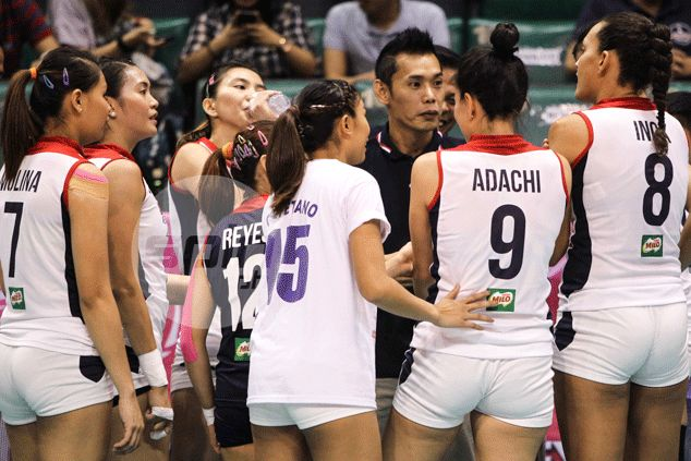 Petron coach George Pascua says too many court leaders taking toll on Blaze Spikers
