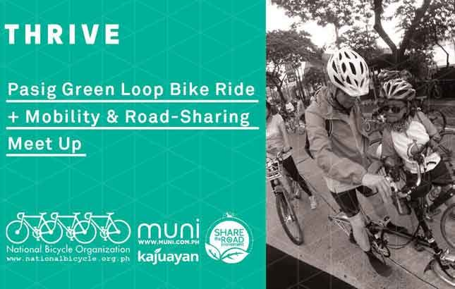 Pasig Green Loop ride promote road sharing and benefits of biking in Metro Manila