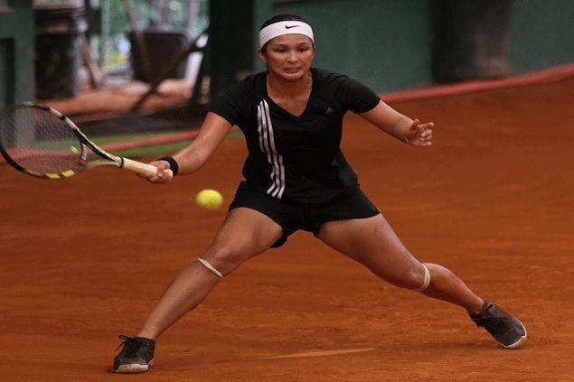 Christine Patrimonio stars as NU Lady Bulldogs down La Salle to stay unbeaten in UAAP women's tennis