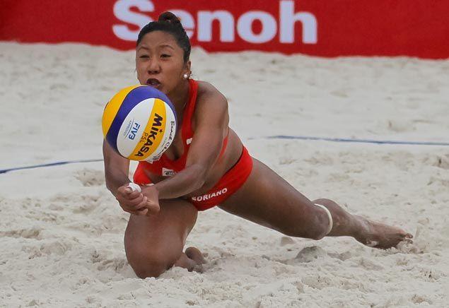 Cignal HD, Foton Hurricanes frolic in rain to reach Superliga beach volleyball semis