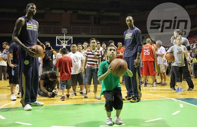 Pacers star Paul George returns to Manila as guest coach of Nike Rise aspirants