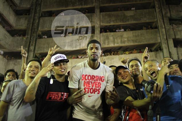Paul George left impressed with Pinoy streetballer as NBA All-Star back in Manila for Nike Rise