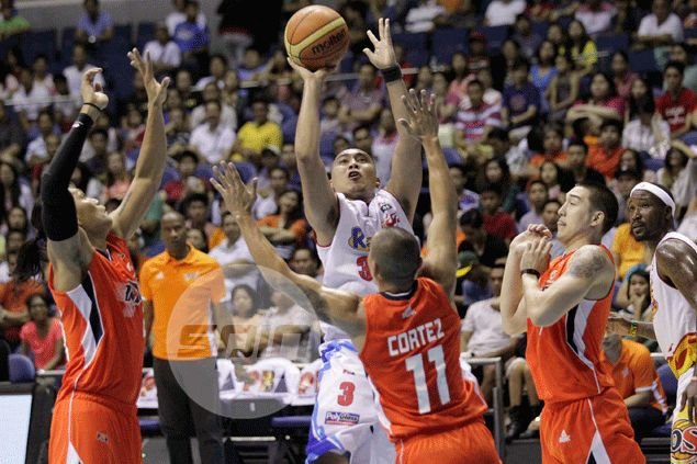 Rain or Shine peppers Meralco with 19 three-pointers to take commanding 2-0 lead