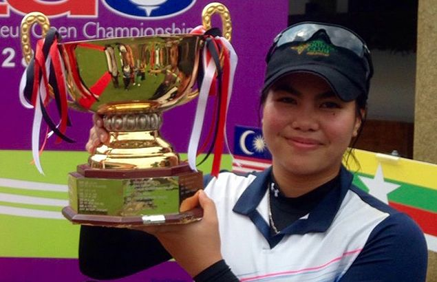 Pauline del Rosario pounces on home bet's late slip to rule Malaysian Ladies Amateur Open