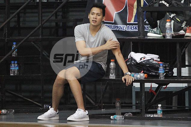 Top Ginebra pick Scottie Thompson absent from first practice - for good reason