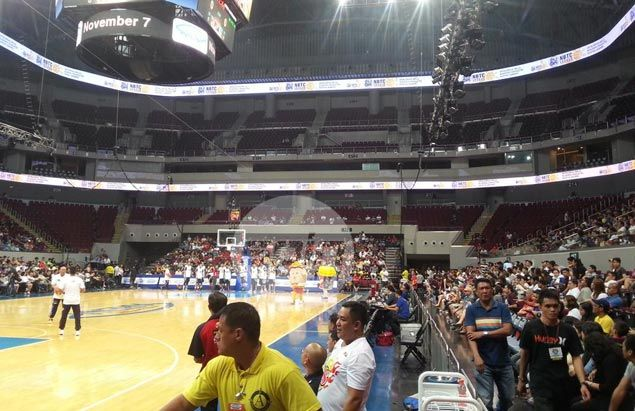 PBA happy with modest turnout after unexpected rescheduling of season opener