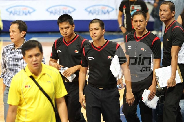 PBA referees ranks thinning as another official suspended for rest of conference after error