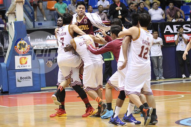 Gab Dagangon sparks Altas' strong finishing kick in come-from-behind win over Cardinals