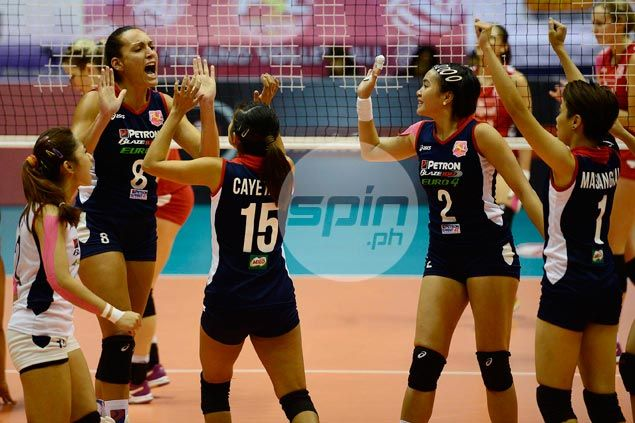 Petron ousts Cignal to arrange showdown with Foton in Super Liga finals