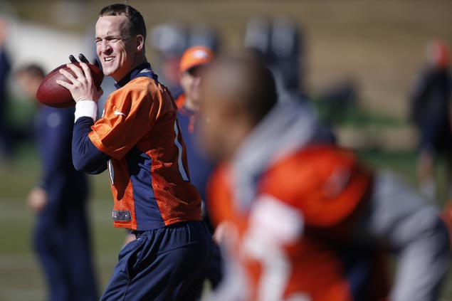 Peyton Manning plays coy about retirement plans on eve of Super Bowl 50