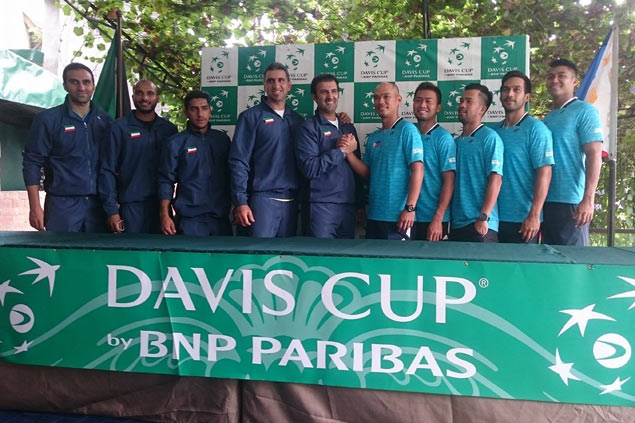 Philippines counting on Patrombon, Gonzales as it eyes first-day sweep of Davis Cup Group II tie vs Kuwait