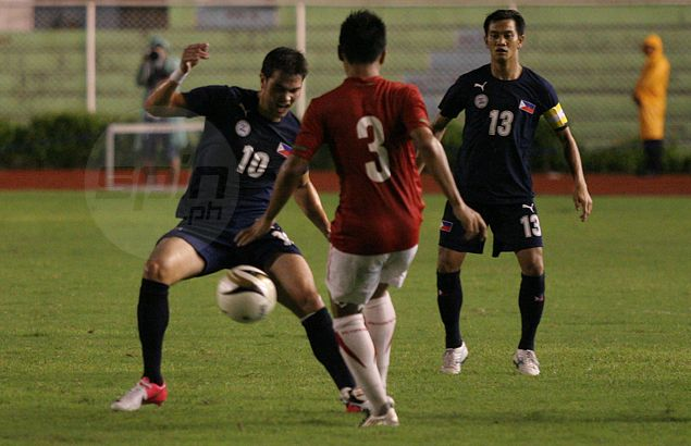 Phil Younghusband, skipper Rob Gier lead first batch of Azkals to leave for Suzuki Cup