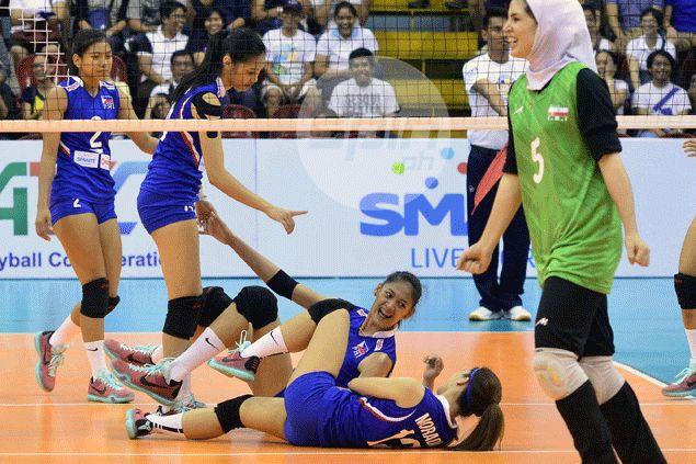 Philippine team's inexperience shows in maze of errors against Iran, says Gorayeb