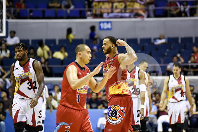 Rain or Shine takes 2-0 lead over SMB as late Lassiter trey comes a split second too late