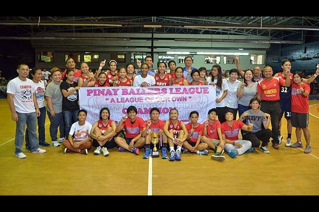 MVP Chovi Borja shines as Navy rules Pinay Ballers League tournament