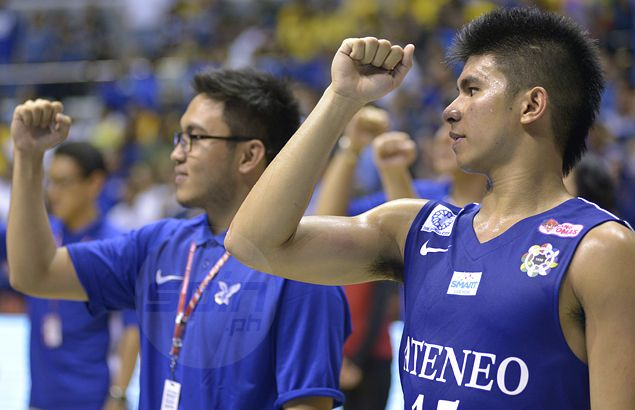 Ravena takes MVP, Pingoy and Cani show glimpse of future as Blue Eagles rule Unigames