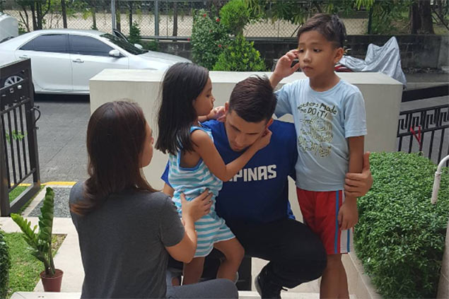 Pingris takes pains to explain to son why he needs to be away for a long time with Gilas