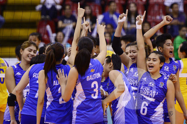 Pocari Sweat beats Air Force in do-or-die game to win V-League title on first try