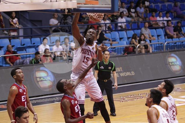 Perpetual stops EAC's two-game win streak but loses Scottie Thompson to ankle injury