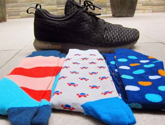 Far from ordinary, Proppy Socks help sneakerheads add color to their game