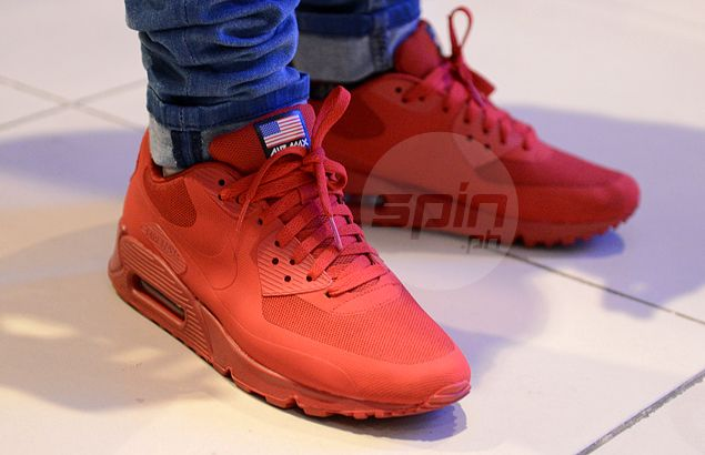 kanye west air max 90 independence day
