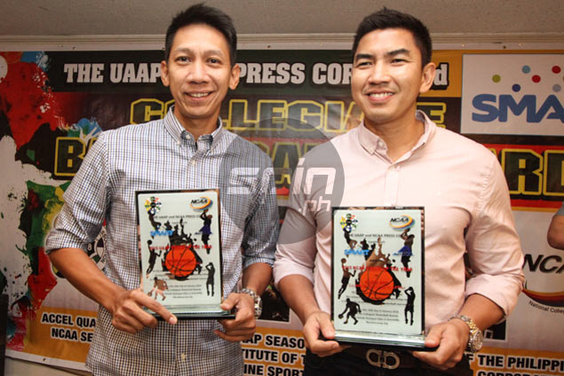 College Coaches of the Year Nash Racela, Aldin Ayo play down upcoming UAAP rivalry